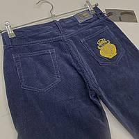 Вельветы сині джинси підліткові