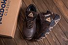 Ботинки зимние мужские кожаные Reebok Crossfit Brown (реплика), фото 4