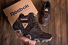 Ботинки зимние мужские кожаные Reebok Crossfit Brown (реплика), фото 5