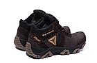 Ботинки зимние мужские кожаные Reebok Crossfit Brown (реплика), фото 7