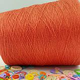 50% лен 50% хлопок TOSCANO - бобинная пряжа для машинного и ручного вязания, фото 2