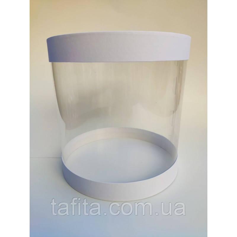 Коробка для торта тубус  25х25 см