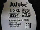 "Штаны женские ""JuJuBe"" на меху. Термо. р. 2XL-4XL. Темно-синие, фото 2"