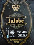 "Штаны женские ""JuJuBe"" на меху. Термо. р. 2XL-4XL. Темно-синие, фото 8"