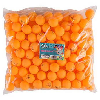 Шарики Batterfly 144шт, оранжевый.