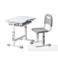 Комплект парта и стул-трансформеры FunDesk Sole Grey-s