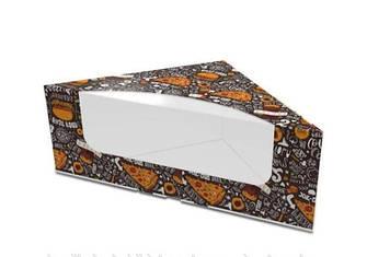 Картонная упаковка для сендвичей