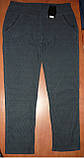 """Штаны женские """"Натали"""" на меху. Батал. р. 8XL. Темно-синие, фото 2"""