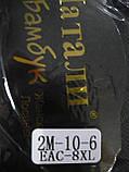 """Штаны женские """"Натали"""" на меху. Батал. р. 8XL. Темно-синие, фото 3"""