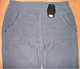 """Штаны женские """"Натали"""" на меху. Батал. р. 8XL. Темно-синие, фото 4"""