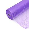 Одноразовые простыни в рулонах 0,6х100 метров 20 г/м2, медицинские, для салонов красоты, фиолетовые