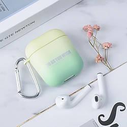 Чехол-накладка  для наушников AirPods, градиент