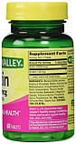 Биотин, 10000 мкг с кератином 100 мг, 60 штук, Spring Valley. Сделано в США., фото 2
