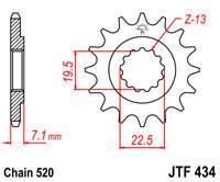 Звезда передняя JT Sprockets JTF434.15
