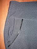 """Штаны женские """"Натали"""" на меху. Батал. р. 10XL. Полоса. Темно-синие, фото 7"""