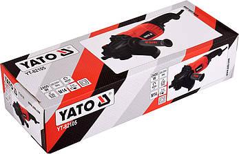Кутова шліфувальна машина 230 мм YATO YT-82105, фото 2
