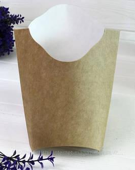 Картонная упаковка для картофеля фри