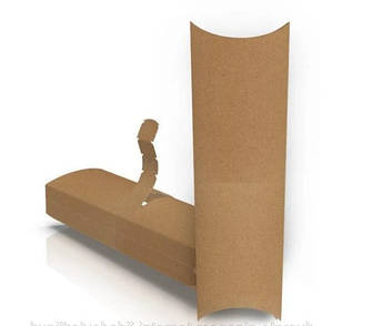 Картонная упаковка для лаваша, шаурмы, бурито, роллов.