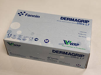 Перчатки нитриловые dermagrip nitrile 200 шт./уп.,РАЗМЕР M