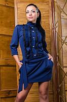 Оригинальное женское платье - туника в различных цветах. Размеры:  44-46
