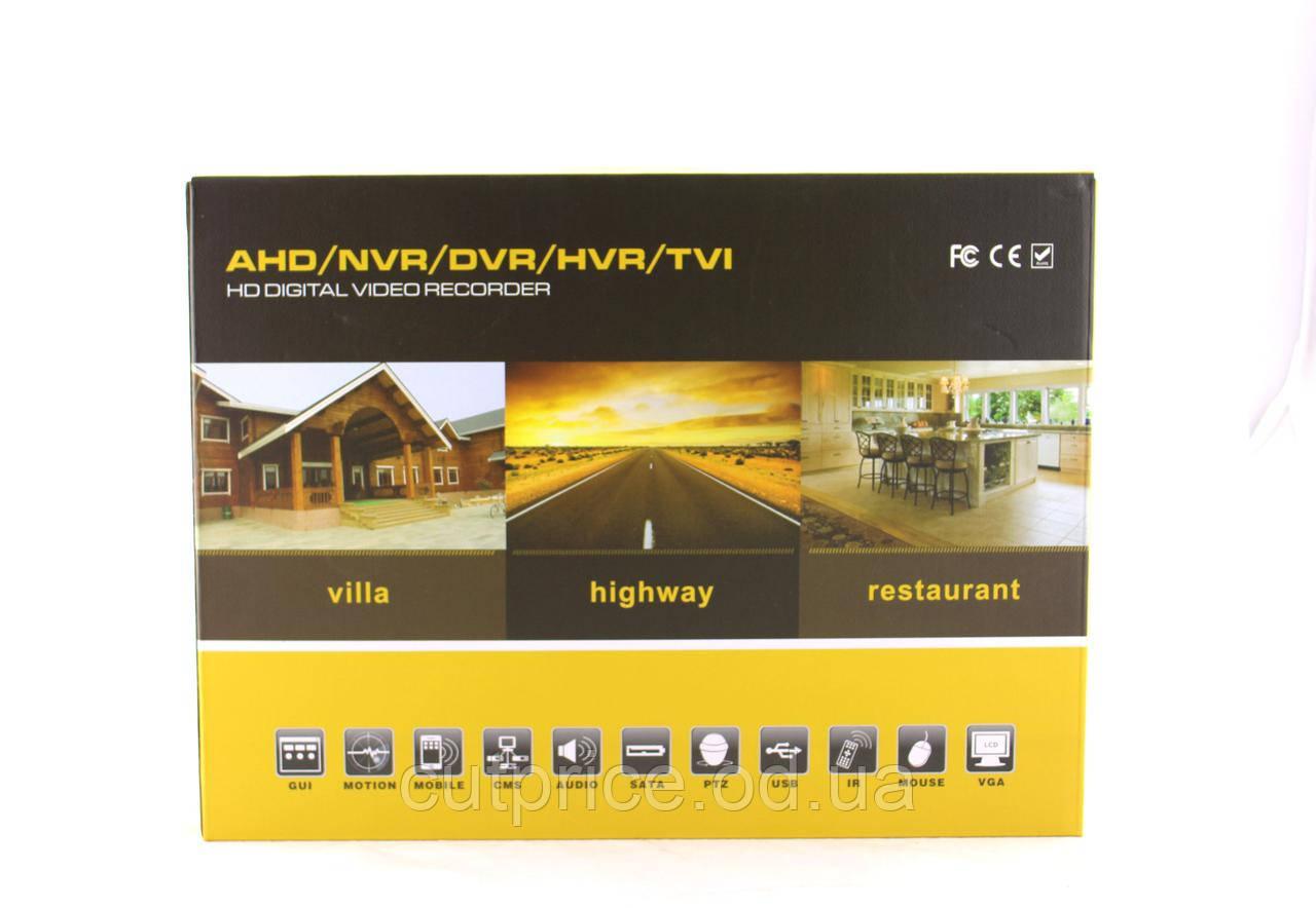 Регистратор DVR CAD 1204 AHD 4ch (10)  в уп. 10шт.