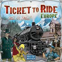 Настольная игра Ticket to Ride: Европа от Hobby World | базовый набор настольной игры 3-е рус. изд