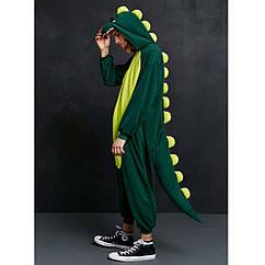 Кигуруми Дракон зеленый (На рост 150-170см)