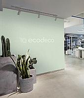 Структурные фотообои с рельефоми логотипом в корпоративном цвете дизайнерские Logo 500 см х 400 см
