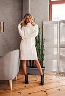 Женское бесшовное вязанное платье, фото 1