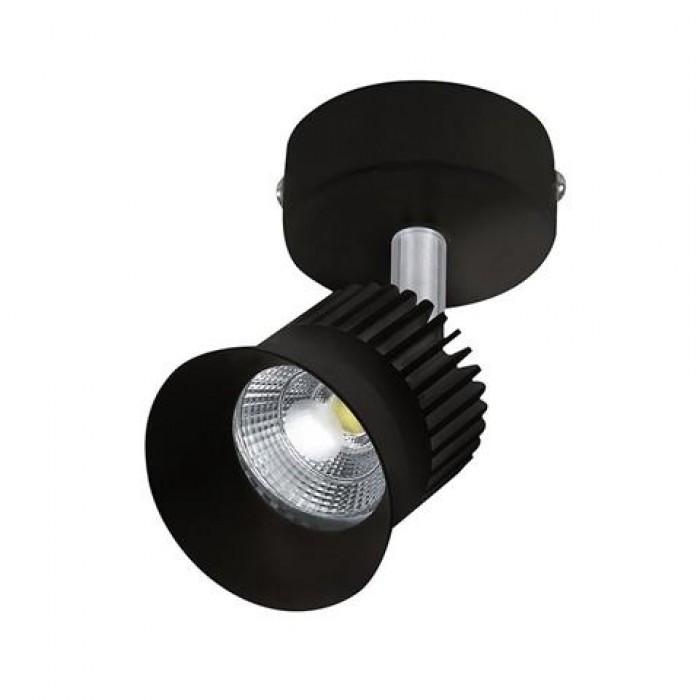 Светодиодный светильник спот 5W Beyrut черный 4200К Horoz Electric