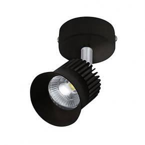 Светодиодный светильник спот 5W Beyrut черный 4200К Horoz Electric, фото 2