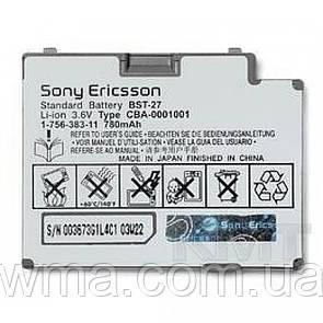 Аккумулятор Sony Ericsson BST27 (780 mAh) — Original