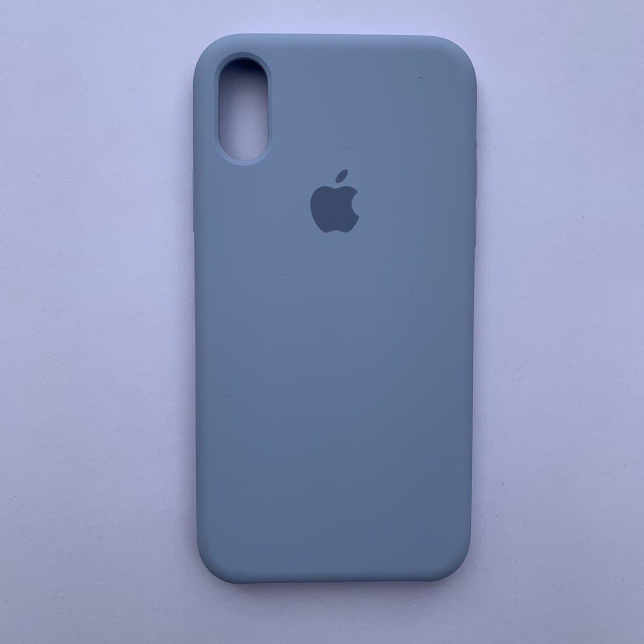 Чехол Silicone Case для Apple iPhone X, XS Lilac