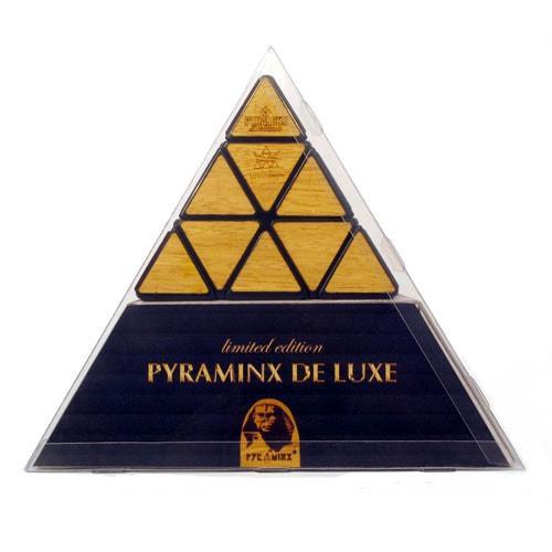 Meffert's Pyraminx Deluxe Деревянная пирамидка премиум класса