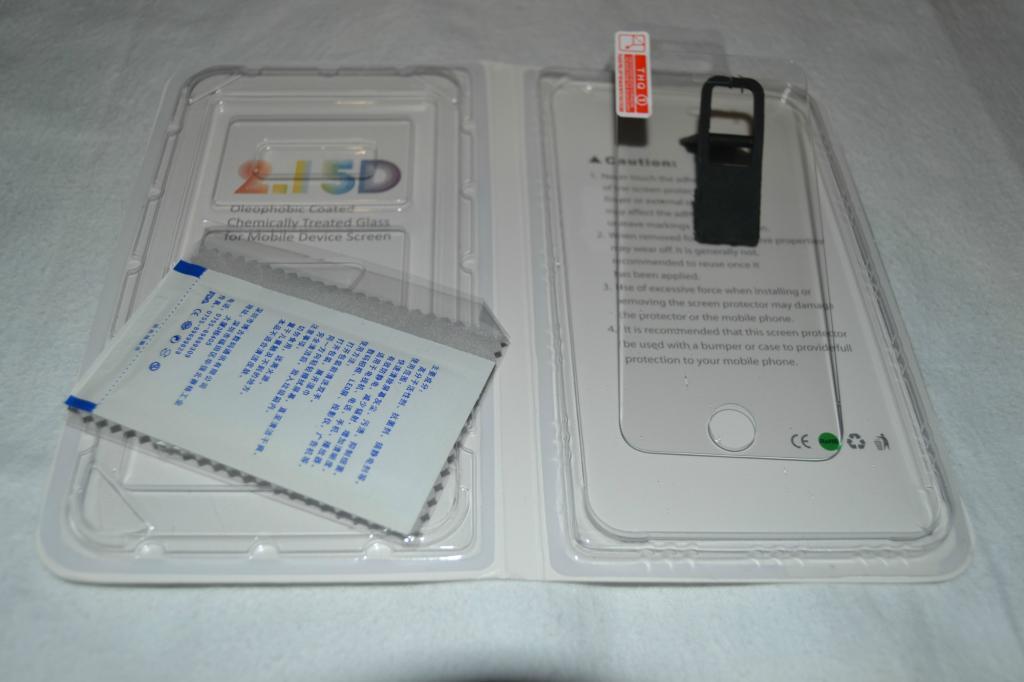 Защитное стекло для iPhone 5, 5S Переднее