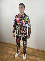 Спортивный костюм с 3D принтом
