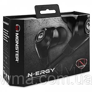 Наушники с микрофоном « Monster (NCRedible NErgy) in-ear » Black