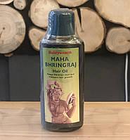 Масло для лечения и укрепления волос Махабрингарадж, 100мл, Mahabhringraj Tel, Baidyanath Индия