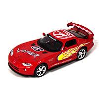 Машинка KINSMART Dodge Viper GTSR красная