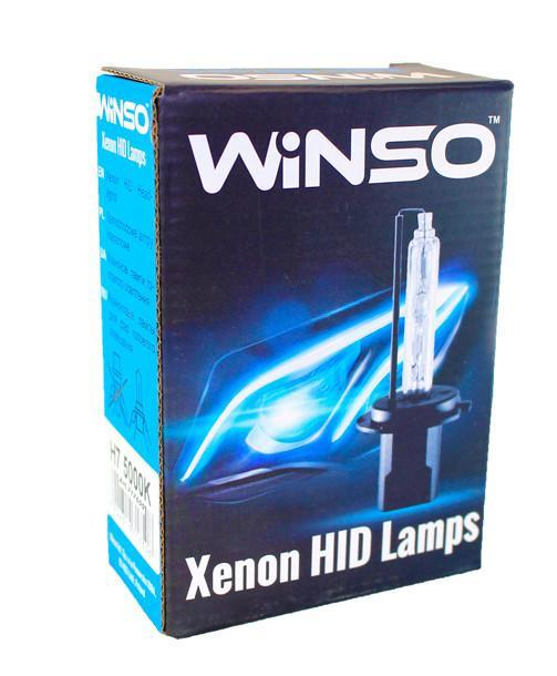 Ксеноновая лампа WINSO XENON H7 6000K 35W 85V,  2шт. (717600)