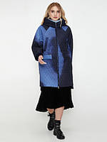 Демисезонное пальто CR-70229-BLU