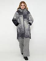 Демисезонное пальто CR-70229-GRE