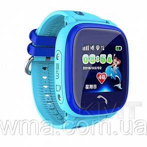 Smart Baby Watch DF25 Waterproof с GPS трекером — Blue