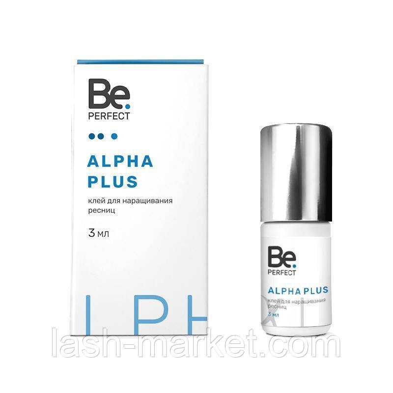 "Клей для наращивания ресниц Be Perfect ""Alpha Plus"", 3 мл"