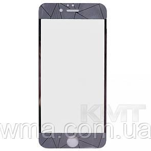 Защитное Стекло 2 in 1 Diamond — iPhone 6S — Silver