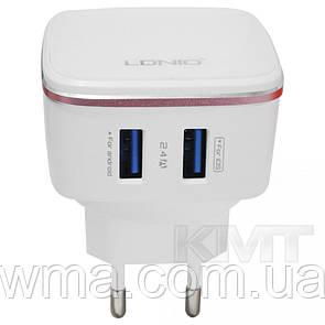 Сетевые зарядные устройства для телефонов и планшетов (Зарядное устройство к телефону) Ldnio DL-AC61 Home