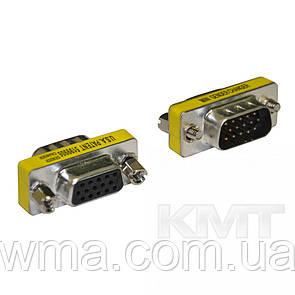 Адаптер VGA (M) - VGA (F)—MetalGrey