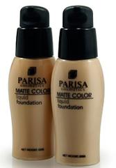 Тональный крем матирующий Parisa Cosmetics SPF 10  F-06 № 01 Бронзово-бежевый