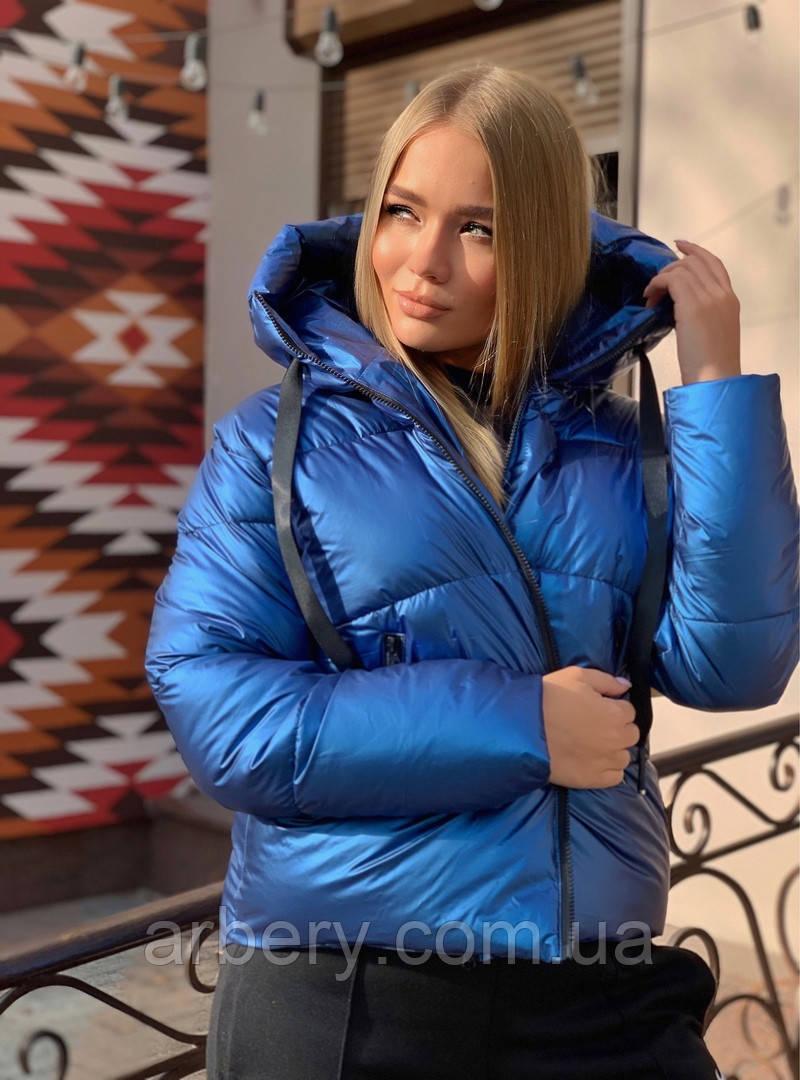 Шикарная зимняя куртка на пуху