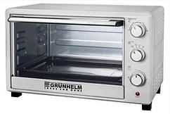 Печь электрическая GRUNHELM - GN33A (белый 33л, 1600 Вт)